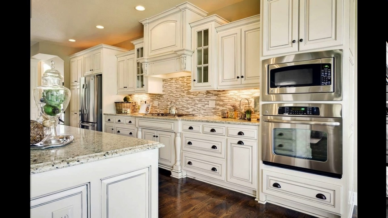 Kitchen Designs With Wall Ovens ~ Double wall oven kitchen design youtube