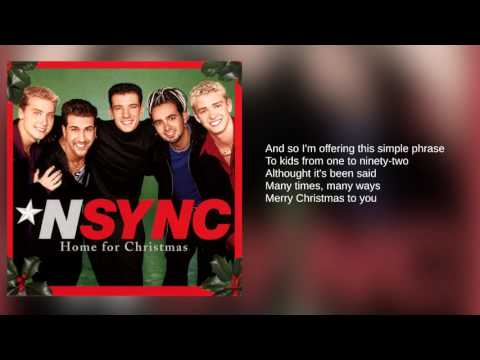 N'Sync: 05. The Christmas Song (Chestnuts Roasting On An Open Fire) (Lyrics)
