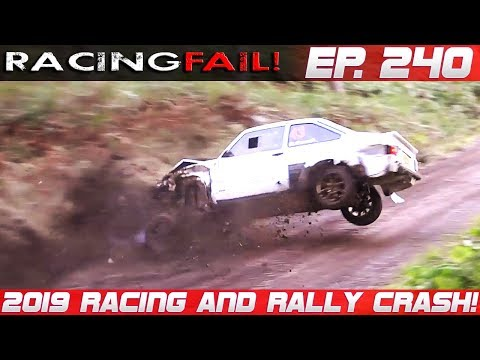 Racing And Rally Crash Compilation 2019 Week 240