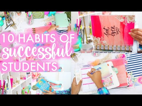 10 HABITS OF SUCCESSFUL STUDENTS | How to be Successful | Paris & Roxy