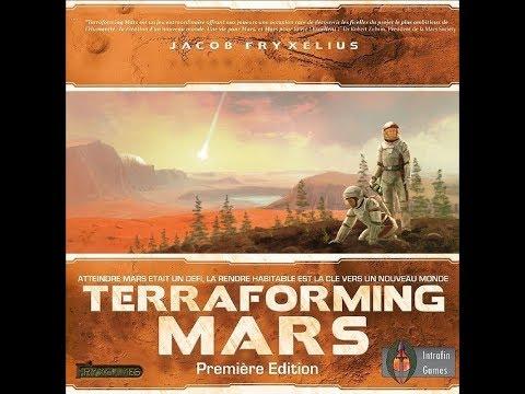 Déballage commenté - Terraforming Mars |