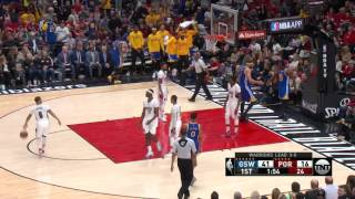 Golden State Warriors at Portland Trail Blazers - April 24, 2017