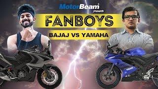 Video Yamaha R15 V3 vs Pulsar RS 200 - Fanboys | MotorBeam download MP3, 3GP, MP4, WEBM, AVI, FLV Oktober 2018