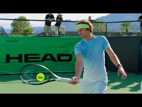 Blink And You Miss It - SPEED Graphene 360 with Alexander Zverev