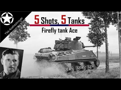 Tank Battles of WW2 - The Firefly Ace that knocked out 5 Panthers with 5 rounds |