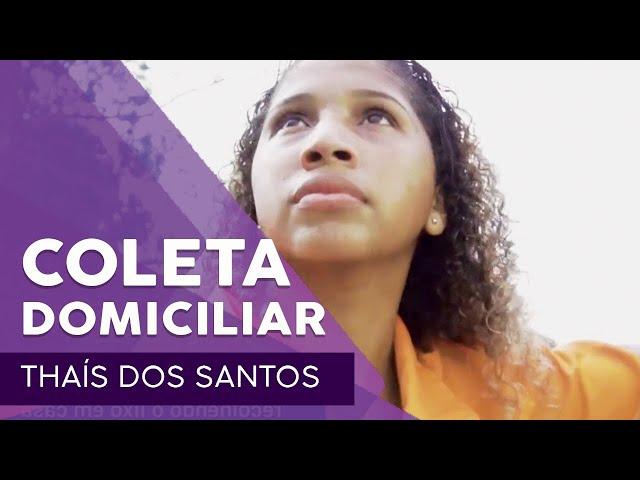 Thaís dos Santos em: um dia na coleta domiciliar #ComlurbNãoPara