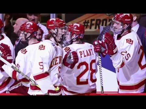 DU Pioneers Hockey Team talks Frozen Four win