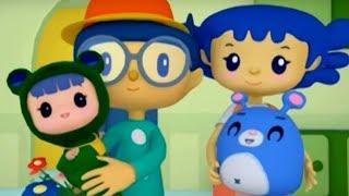Рубі і Йо-йо - збірник - Всі серії про тата і маму Рубі - навчальні мультфільми для малят 0-3