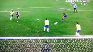 なでしこジャパン、ブラジルに快勝! (2012/04/05)