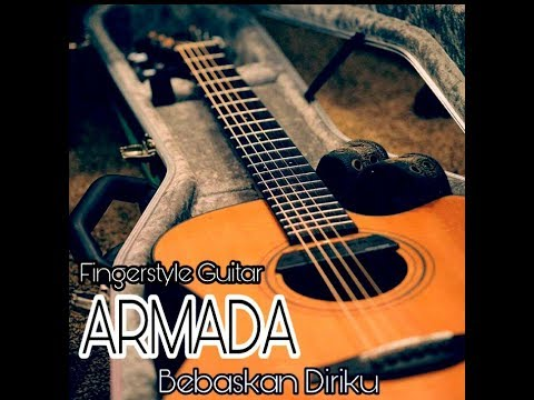 ARMADA _ bebaskan diriku ( TUTORIAL fingerstyle Guitar Cover ) simple Gitar