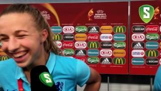 Jackie Groenen na Nederland - Zweden