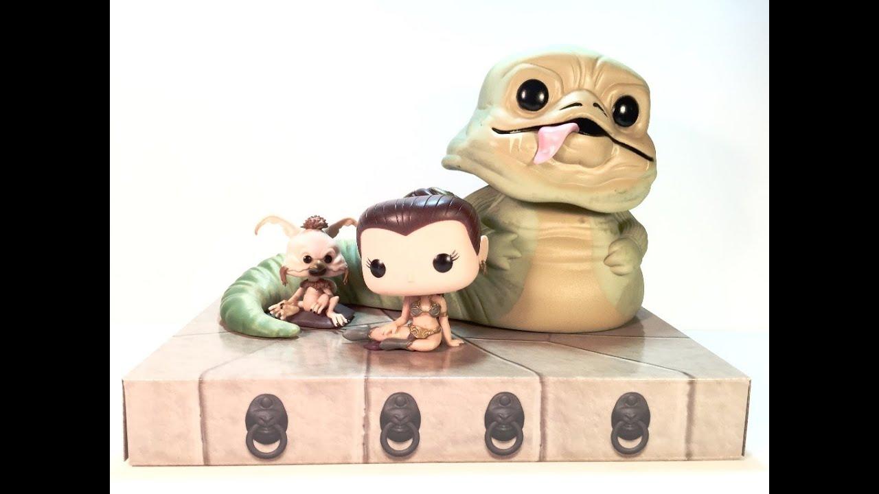 Funko Pop Walmart Exclusive Jabba The Hutt Slave Leia
