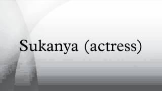 Sukanya (actress)