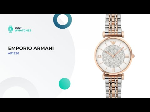 Slick Emporio Armani AR1926 Watches For Women Prices, Full Specs, Honest Review In 360