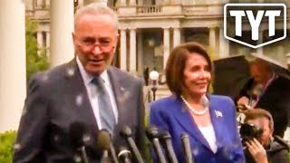 Nancy Pelosi Walks Out Of Meeting With Trump