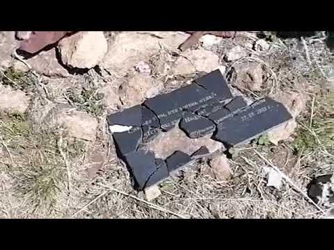 Вандалы повредили военный мемориал под Туапсе
