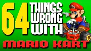 64 Things WRONG With Mario Kart (PARODY)