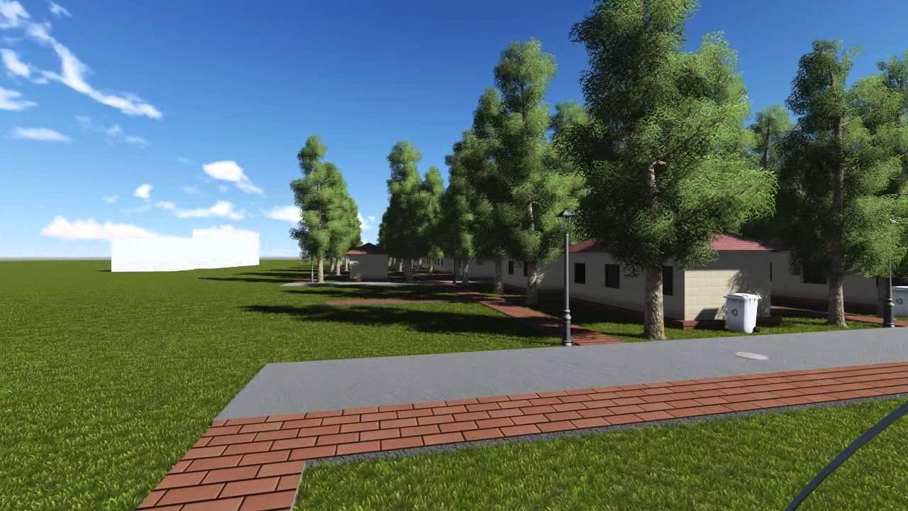 Sumashaila township isnapur hyderabad independent house youtube - Cluster Housing Sample 3d Modeling And Animation Mp4