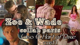 Three Hart of Dixie collab parts