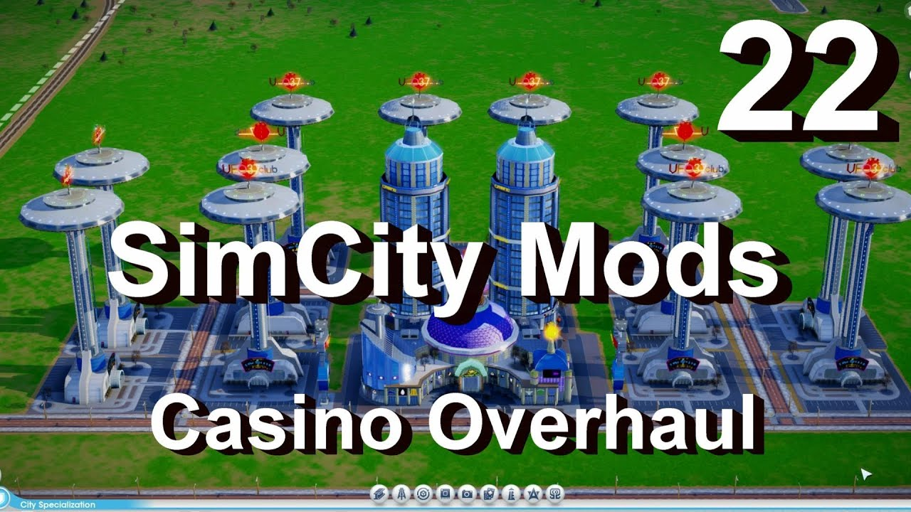 Simcity 5 2013 mods 22 casino overhaul vegas pack by parker enhance cheat mod review