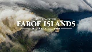 The Beautiful Faroe Islands | 4K Cinematic Drone