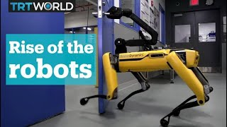 Boston Dynamics' robot figured out how to open doors