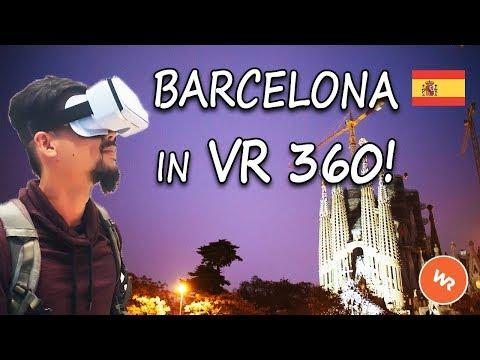 Barcelona In VR 360 (World Race)