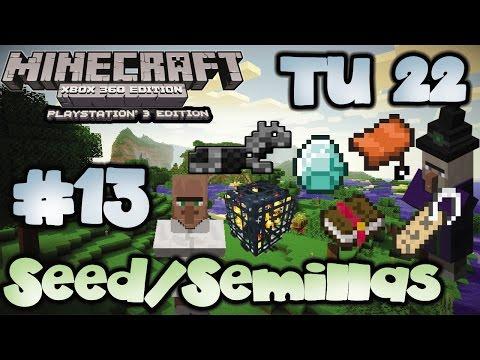 [Semillas/Seed TU21/22] | 2 Casas de Brujas y Diamantes Fáciles | Minecraft Xbox 360/One/PS3/PS4