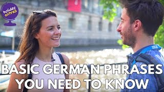 🇩🇪 How To Speak Basic German 🇩🇪 | Holiday Extras