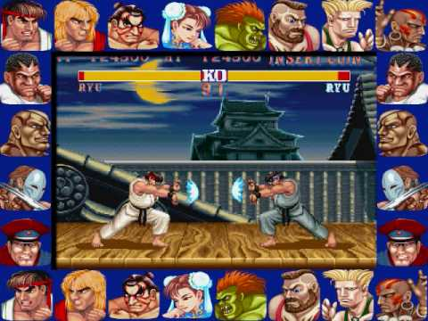 Street Fight Ii Ryu S Hadouken Youtube