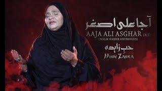 Noha - Aaja Ali Asghar A.s Main Tuje Lori - Hub e Zahra - 2017