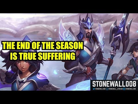 Games At The End Of The Season Are Truly Painful