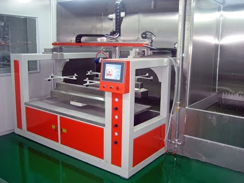 5 Axis Spray Coating Machine with Moving Table Automatic Painting