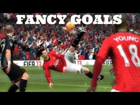 FIFA 14 - HOW TO SCORE FANCY GOALS (Bicycle Kicks, Scissor Kicks, Diving Header & More)