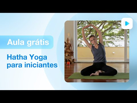 Aula de yoga para iniciantes - hatha yoga | Carolina Borghetti