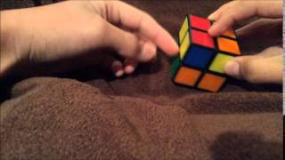 how to solve a 2x2 rubik s cube part 3 of 4 orientating the yellow corners