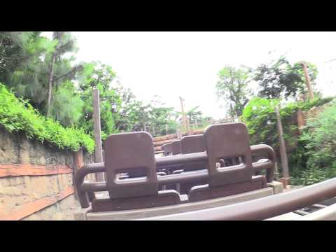 Disneyland Hong Kong Big Grizzly Mountain Runaway Mine Cars POV 1080p Full Complete Ride Through