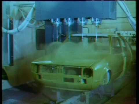 Volkswagen Golf MK1 fabrication assembly