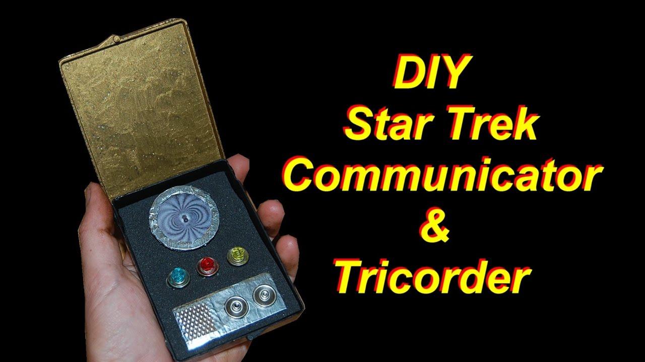 DIY Star Trek Communicator and Tricorder