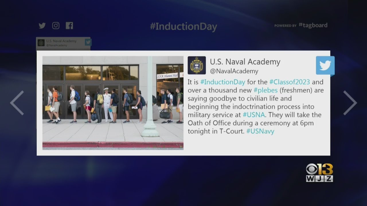 1,200 To Be Inducted At U S  Naval Academy