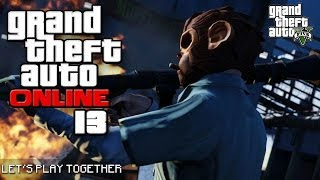 GTA ONLINE TOGETHER #013: Tutorial: Wie man sein Geld los wird [LET'S PLAY GTA V]