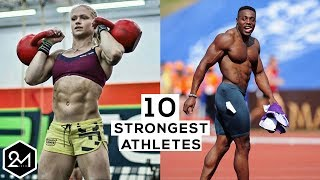 Top 10 Strongest Athletes With A Physique Of A Bodybuilder 2017