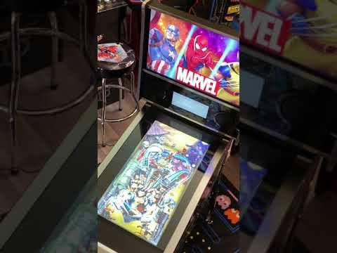 Arcade1up Marvel Pinball: Wolverine Gameplay from Kelsalls Arcade