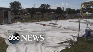 Severe Weather Blamed for Deadly Tent Collapse