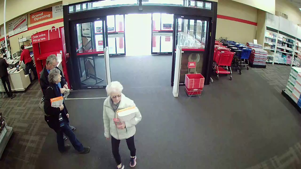 Tim Eyman caught stealing a chair at Lacey Office Depot