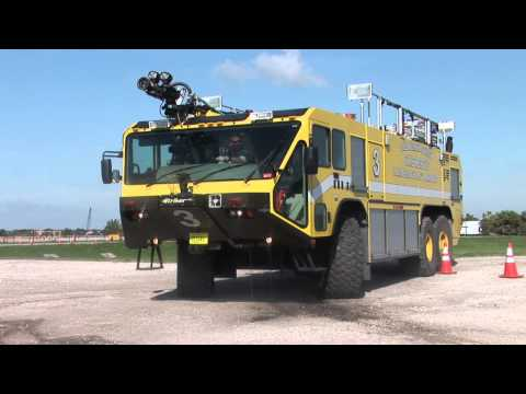Aircraft Rescue Firefighting Training at PBCFR Regional Training Center