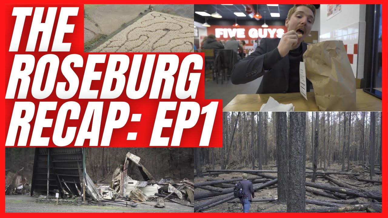 🔴 Roseburg Recap | Archie Creek Fire Update, Five Guys in Hanna Heritage Place, and More!