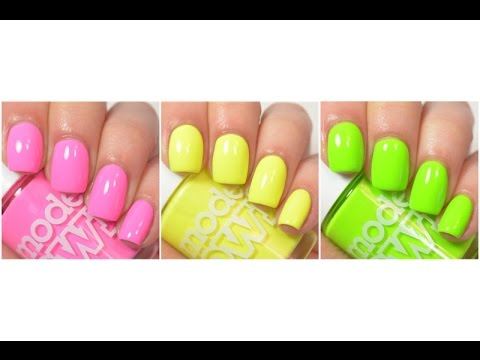 Models Own - Polish For Tans | Swatch and Review - YouTube