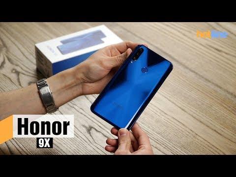 Honor 9X — опыт использования смартфона