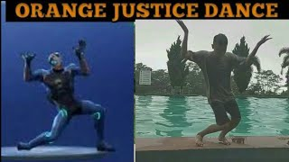 Justice Dance Fortnite In Real Life